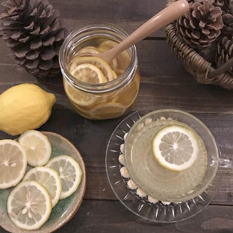 レモン 白湯