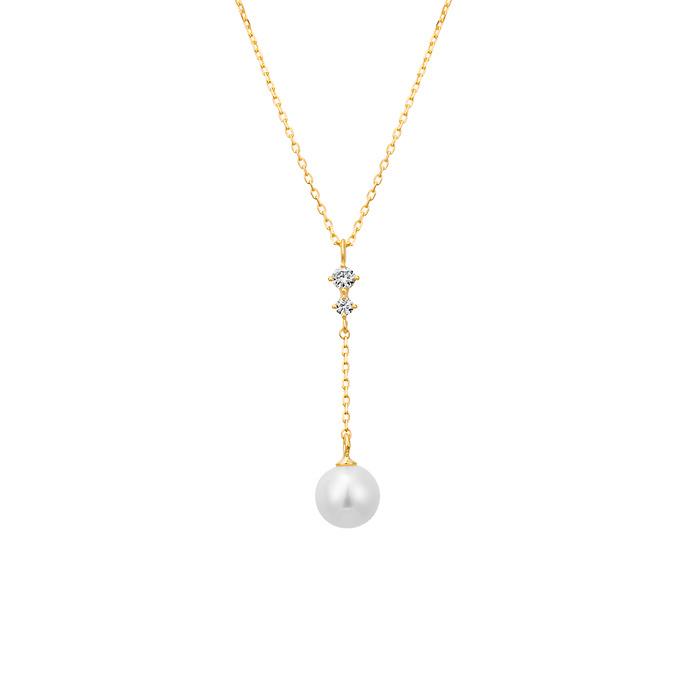 K18イエローゴールドネックレス プレゼント