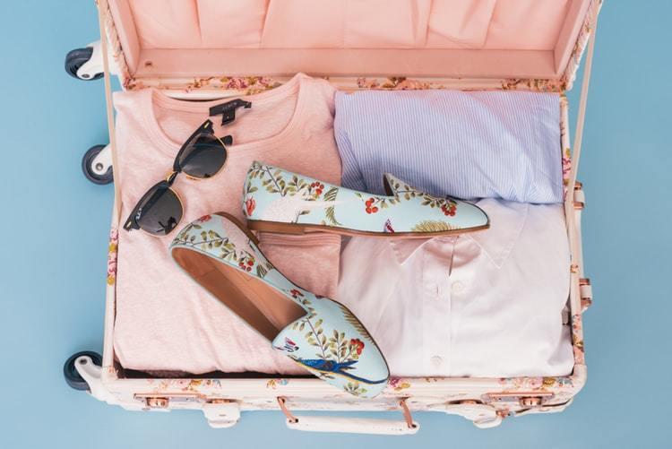 スーツケース パッキング
