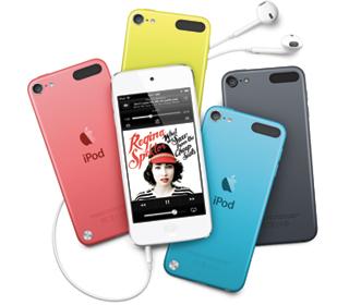 カラフルな新しい「iPod touch」