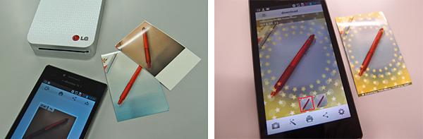 専用アプリ以外からのプリントにも対応。さまざまにデコレートして印刷できる