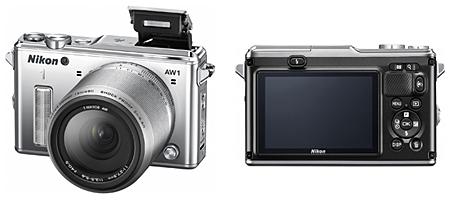 レンズ交換式アドバンストカメラ「Nikon 1」の新モデル、Nikon 1 AW1