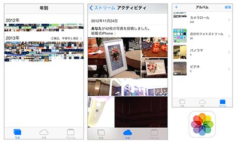 便利になった写真アプリ