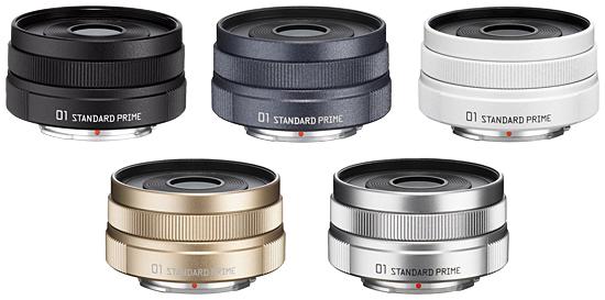 交換レンズ「PENTAX-01 STANDARD PRIME」のオーダーカラー受注サービス