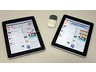 iPad Wi-Fi+3G(左)とiPad Wi-Fi+Pocket WiFi(右)