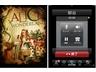 iPadのキラーコンテンツ「電子書籍」(左)、Skypeで通話もできる(右)