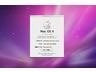 アップルマークから「このMacについて」を表示すると、「Mac OS X バージョン10.6」と表示される。残念ながら、ここには「Snow Leopard」の表記はない