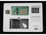 キットの全容。基板、電池ボックス兼土台、キーボード用フィルム、キーボード用両面粘着フィルム、ネジ6本で構成