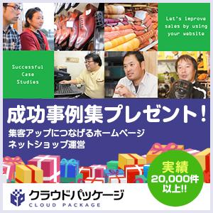 成功事例集プレゼント! 集客アップにつなげるホームページ・ネットショップ運営