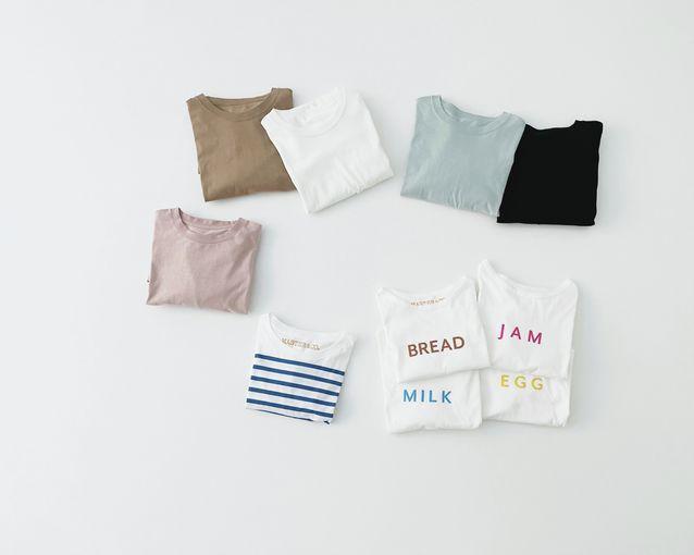 ドライタッチな夏のTシャツ