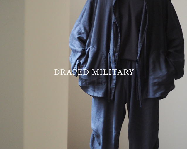 DRAPED MILITARY