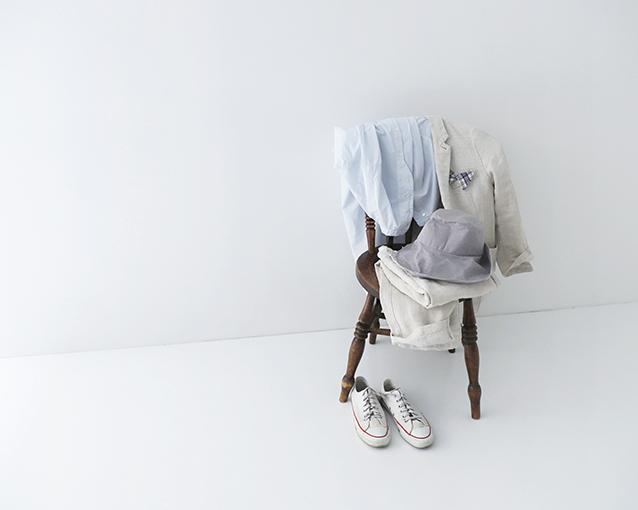 【LINEN JACKET & PANTS】特集ページ公開のお知らせ