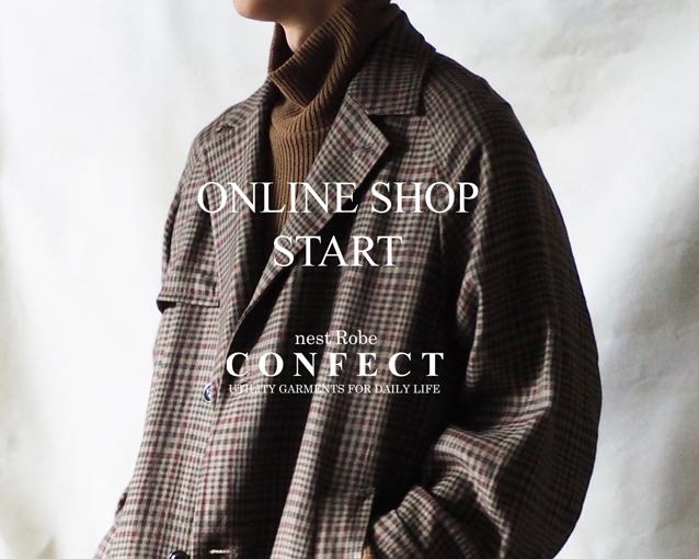 ONLINE SHOP STARTのお知らせ