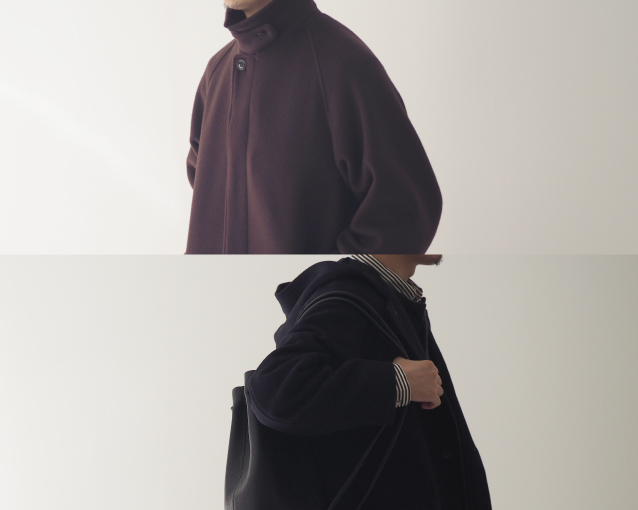 【COAT -soutien collar coat / hooded coat-】特集ページ公開のお知らせ