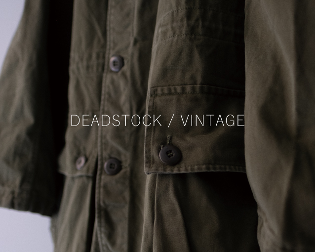 【DEADSTOCK/VNTEAGE】開催のお知らせ