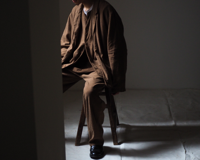 【ROUGH AND LOOSE SILK LINEN SUITING】特集ページ公開のお知らせ