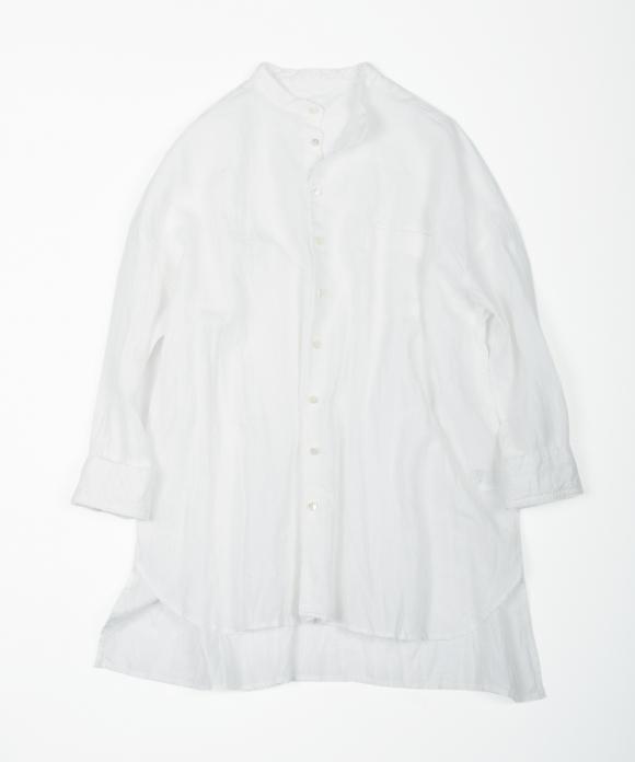 リネンハイカウントシャツ