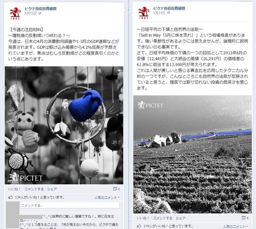 ピクテ投信投資顧問Facebook 事例03