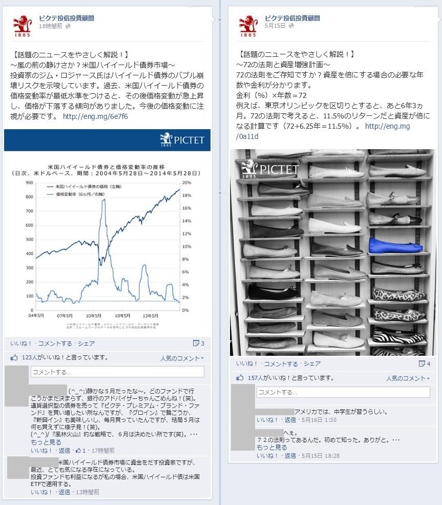 ピクテ投信投資顧問Facebook 事例06