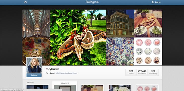 トリーバーチ,Tory Burch, カスタマーセントリック, ソーシャルメディア, 顧客中心主義, Twitter,Instagram,Pinterest,Facebook
