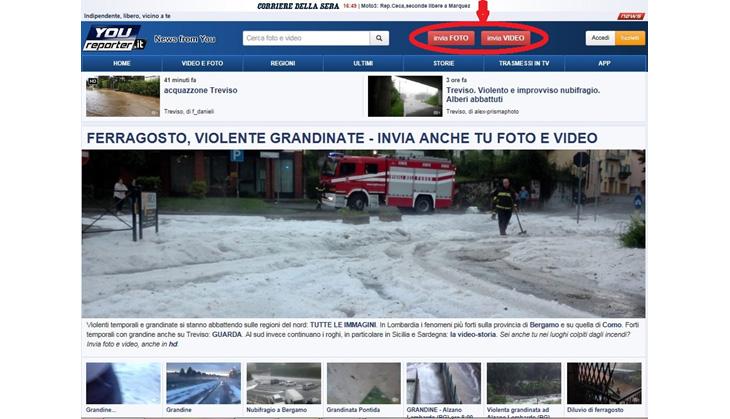 イタリア,新聞,Webサイト,動画コンテンツ