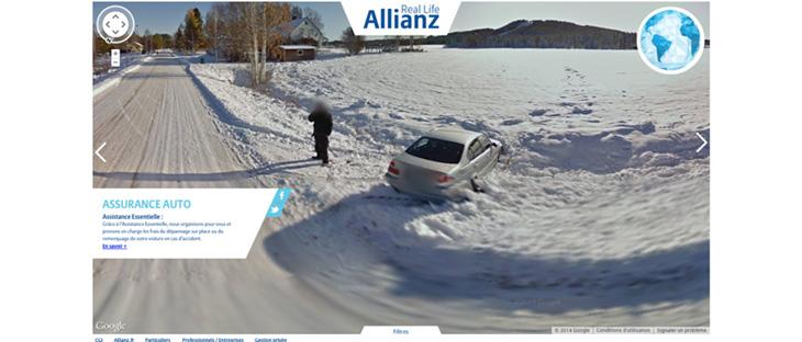 保険, Allianz, アリアンツ,面白い,コンテンツ,アイデア,事例