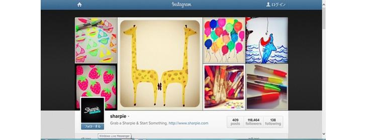 ティーン世代, Instagram, Facebook, ソーシャルメディア,Sharpie