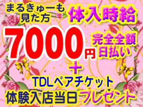 体入時給10,000円!入店祝10万の画像