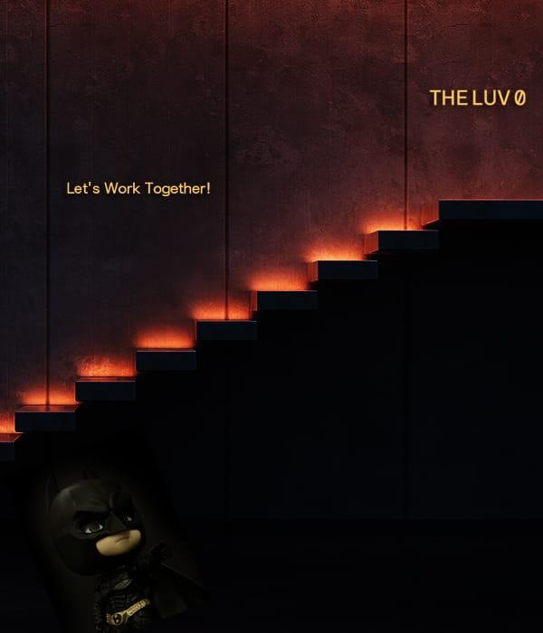 階段を上ると着きます! THE LUVの求人ブログ