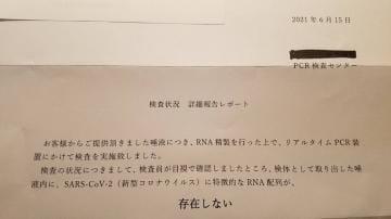 「PCR検査✩.*˚」06/18日(金) 09:58   りんの写メ・風俗動画