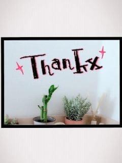 「thank you !」01/19(金) 04:17   かんなの写メ・風俗動画