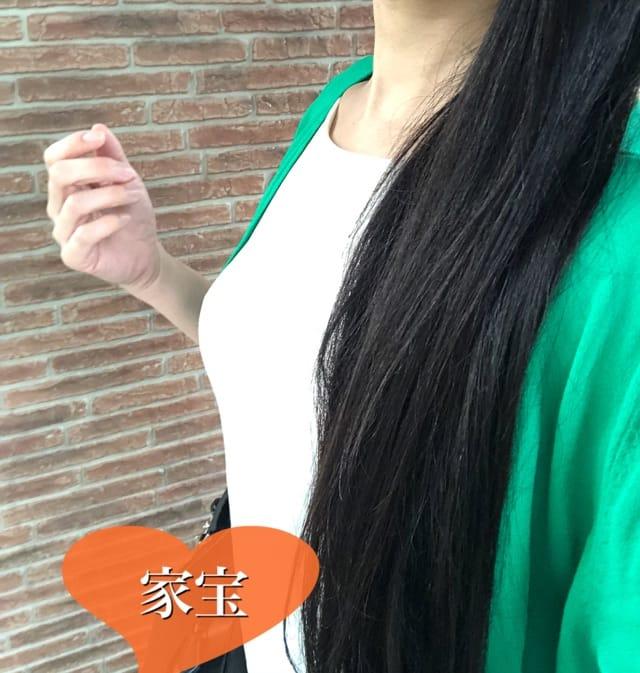 「今日は白と緑。\(^-^)/」04/17(火) 15:50 | 家宝の写メ・風俗動画
