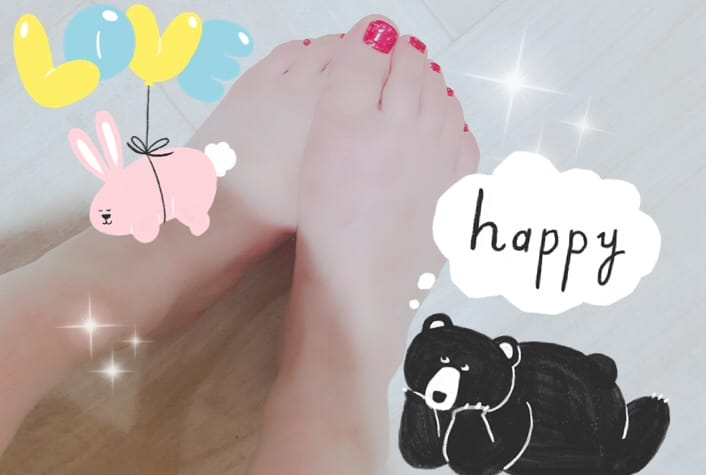 「ペディキュア塗りました」05/07(月) 17:09 | 新人紗季の写メ・風俗動画
