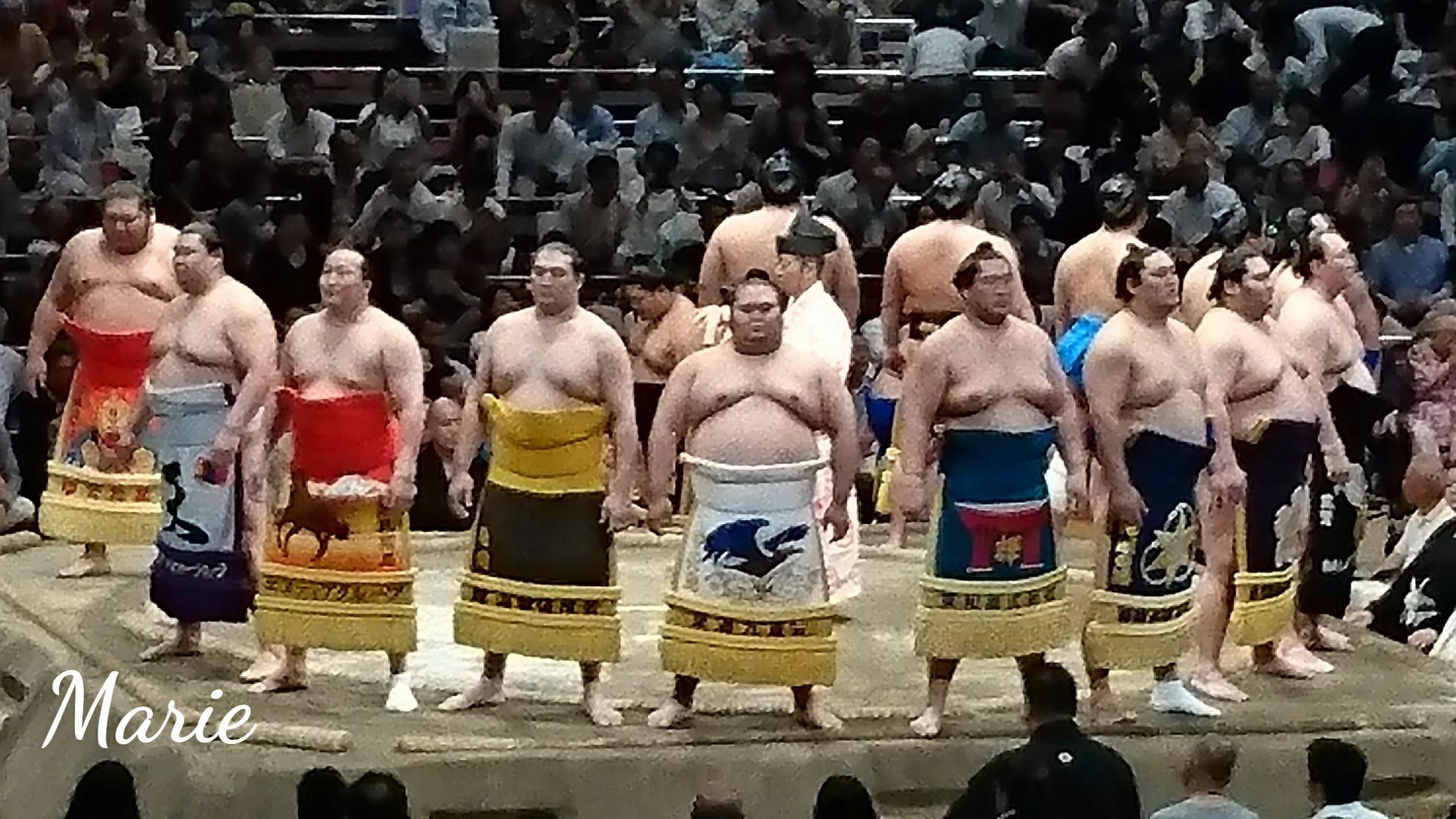 まりえ「☆お相撲観てきたよ!(*^▽^*)❤️」05/19(土) 03:02   まりえの写メ・風俗動画