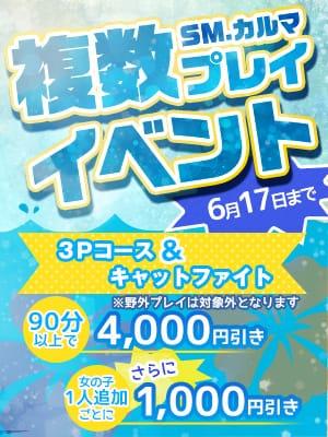 「3P・キャットイベント開催!」06/04(月) 10:15   七色 ヒカルの写メ・風俗動画