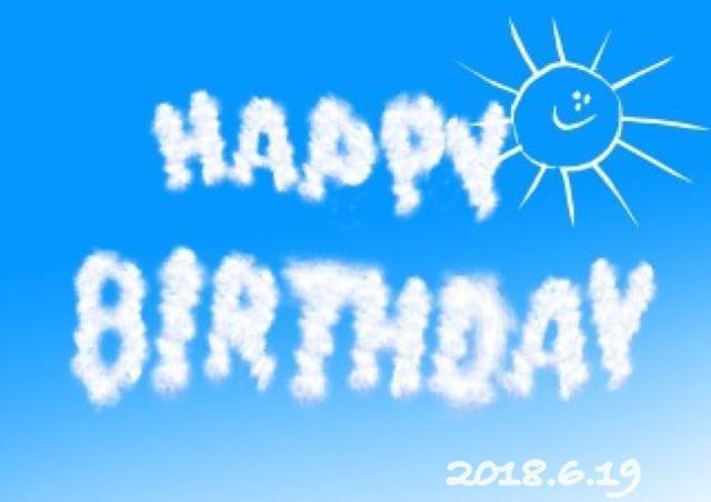「Happy Birthday♪」06/19(火) 00:05   まりえの写メ・風俗動画