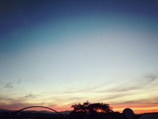 「今日の夕焼け」06/24日(日) 20:23 | ふみのの写メ・風俗動画