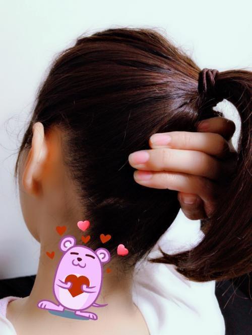 「ポニーテール〜(^-^)v」06/24日(日) 22:50   かなの写メ・風俗動画