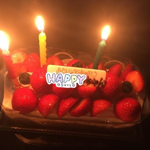「誕生日」07/03(火) 20:56 | ひなの写メ・風俗動画