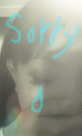 「ごめんなさい」08/30(木) 23:02 | まきの写メ・風俗動画