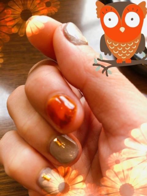 さりな「爪は秋色」10/18(木) 14:38   さりなの写メ・風俗動画
