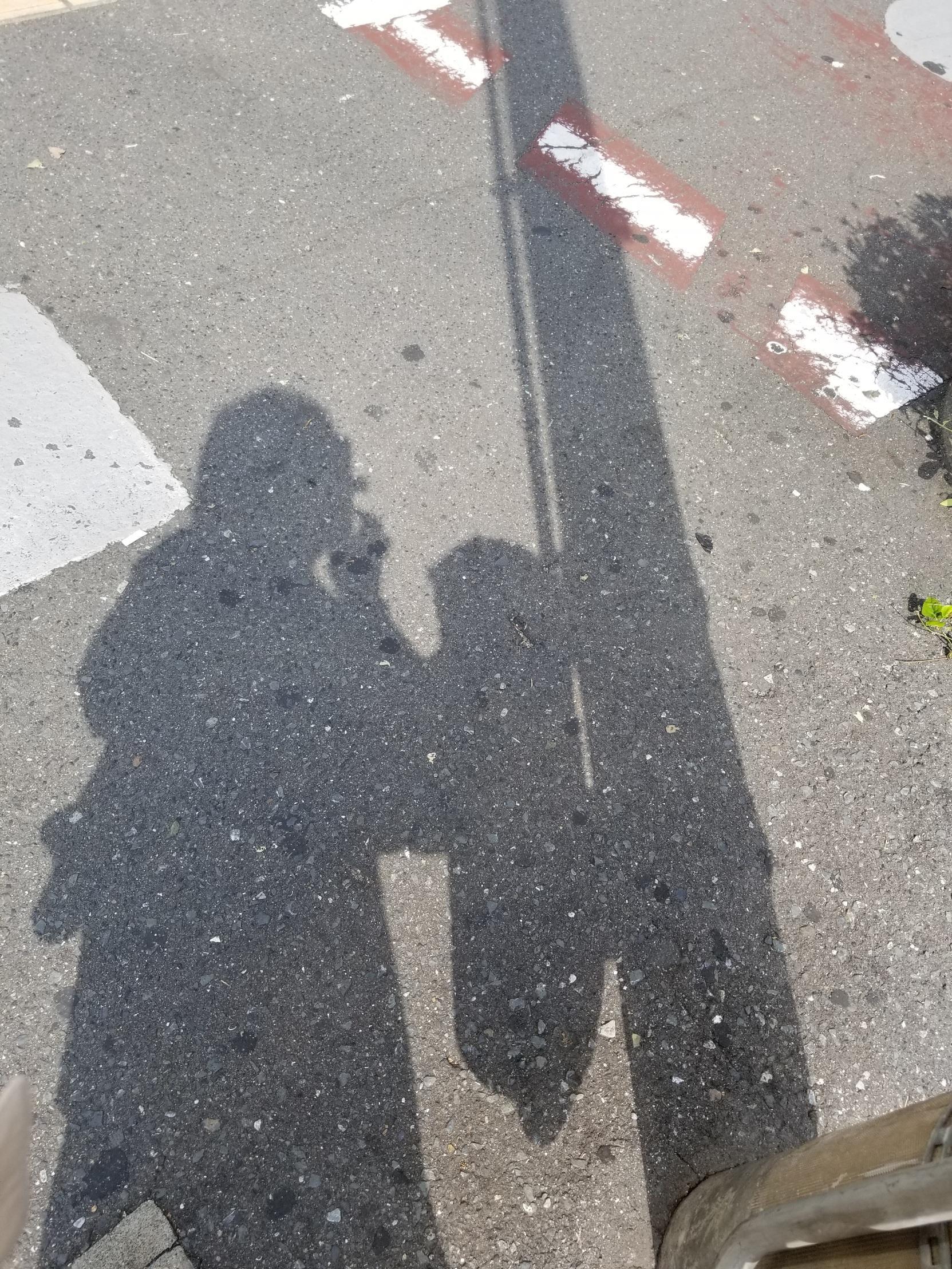 「電柱と私の影」10/19(金) 17:41 | こはるの写メ・風俗動画