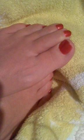 「足の爪です」12/17日(月) 13:18 | 桜沢小春の写メ・風俗動画