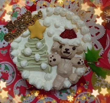 「ワンコのクリスマスケーキ」12/26(水) 18:10 | 岡部の写メ・風俗動画