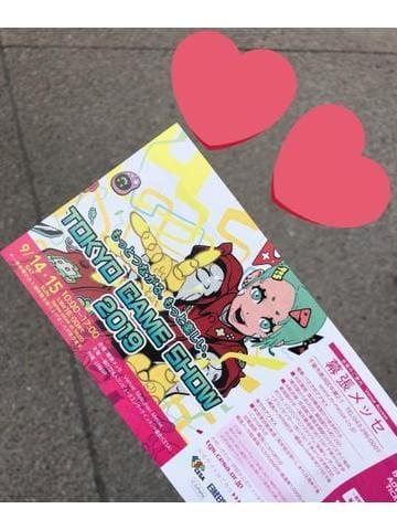 「東京ゲームショー」09/16(月) 15:48 | えりかの写メ・風俗動画