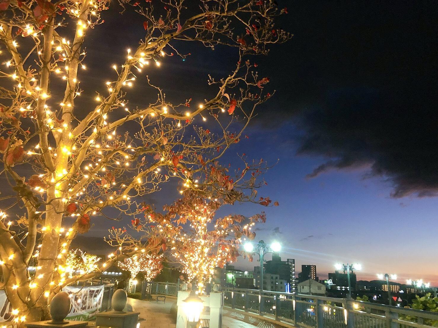 こころ「秋空と雨雲とイルミネーション」11/29(金) 20:30 | こころの写メ・風俗動画