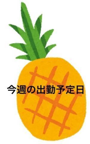 「今週と来週の出勤予定」02/07(金) 08:00   パインの写メ・風俗動画