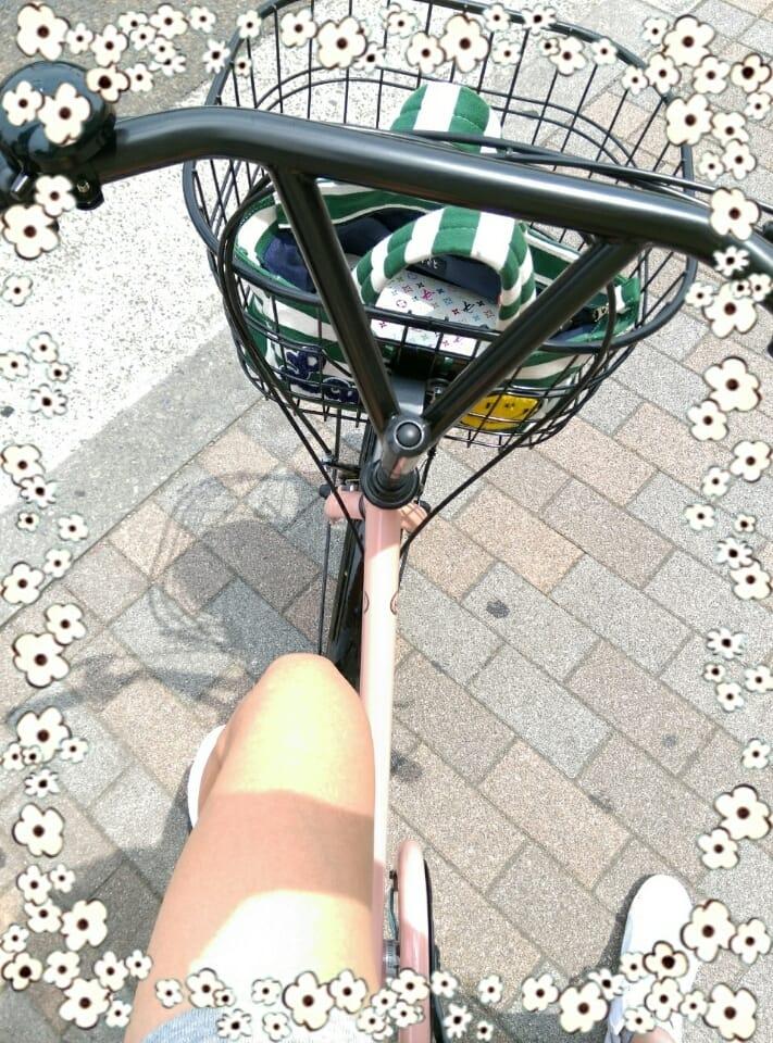 ユリア「自転車!」10/19(木) 10:00 | ユリアの写メ・風俗動画