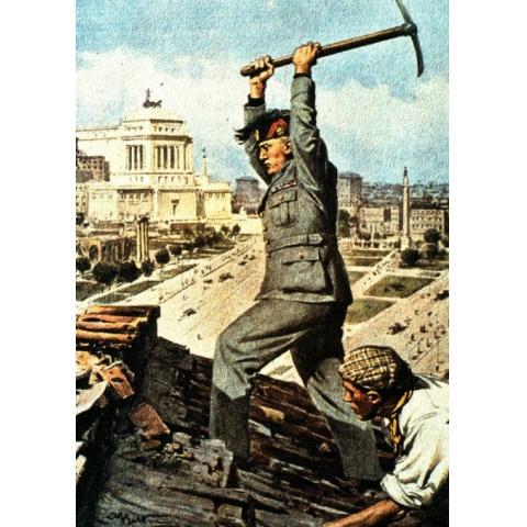 ムッソリーニ侵略の歴史 資料映像集