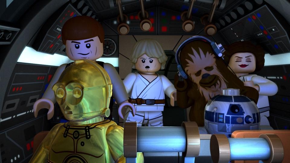 LEGO スター・ウォーズ/ニュー・ヨーダ・クロニクル ジェダイ聖堂からの脱出